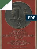 Grosse Deutsche Kunstausstellung 1942 - Offizieller Ausstellungskatalog (224 S., Scan)