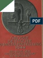 Grosse Deutsche Kunstausstellung 1944 - Offizieller Ausstellungskatalog (207 S., Scan)