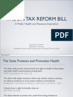 The Sin Tax Reform Bill