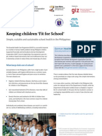 Keeping children 'Fit for School'