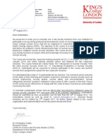 INSEN PDC Invitation Letter