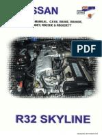 r32.Engine.manual Ca18i, Rb20e, Rb20de, Rb20det, Rb25de &Rb26dett