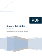 Success Principles - Book