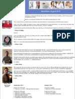Bpl Newsletter August 2012