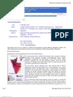 Uranium in south India Atomic Minerals Division India Economic Geology