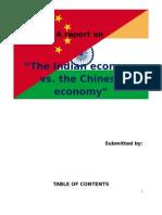 The Indian Economy Versus the Chinese Economy-main Stream