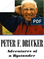 Peter Drucker - Adventures of a Bystander (Ocr)