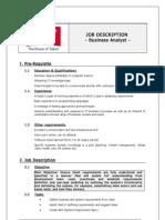 Associate Business Analyst