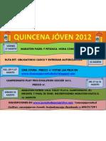 Cartel Semana Joven 2012