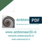 Kaartjes Ambtenaar 2.0 2008-11