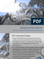 Operational Risk Roll-Out