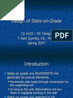 90504644 Slabs on Grade