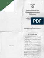 Hauptamt Schrifttum - Siebenhundert Buecher Fuer Nationalsozialistische Buechereien (1944, 27 Doppels., Scan)