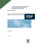 Peace and Development-IDRC