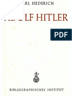 Hederich, Karl - Adolf Hitler (1942, 64 S., Scan-Text)