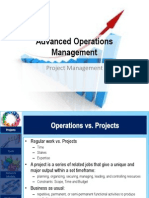 AOM Presentation - Project Management