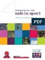 Safe in Sport CP Leaflet