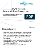 Optometry's Role in Laser Vision Correction