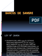Banco de Sangre LEY