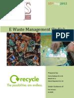 E Waste Report