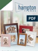 Hampton Frames Spring/Summer 2011 Catalogue