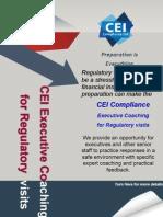 Regulatory Visit Preparation - Coaching for Executives