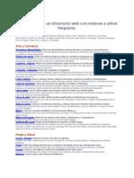 Directorio Web Con Enlaces a Sitios Hispanos 2012