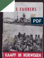 Hoffmann, Heinrich - Des Fuehrers Kampf in Norwegen (1940, 21 Doppels., Scan)
