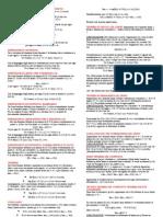 Riassunto Teoremi e Dimostrazioni Analisi Matematica 1