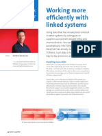 Working more efficiently with linked systems