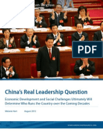 China's Real Leadership Question