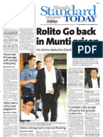 Manila Standard Today -- August 17, 2012 issue