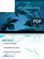 Beta Analysis