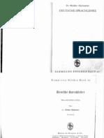 Hofstaetter, Walther - Deutsche Sprachlehre (1944, 72 Doppels., Scan, Fraktur)