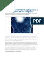 Educar y Desmitificar La Epilepsia en Colombia 2012