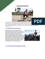 Top 10 Road Cycling Trips
