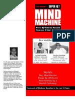 Mind Machine Brochure