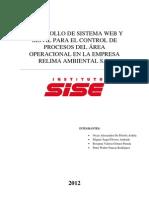 DESARROLLO DE SISTEMA WEB Y MÓVIL PARA EL CONTROL DE PROCESOS DEL ÁREA OPERACIONAL EN LA EMPRESA RELIMA AMBIENTAL S.A.