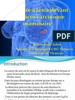 Le Microcarcinome Mammaire