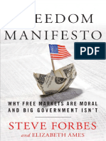 Freedom Manifesto by Steve Forbes and Elizabeth Ames - Excerpt