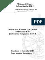 DefStan 91-91 Issue 7 Amd 1