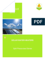 catalogue solar water heaters