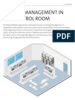 Change Management in the Control Room