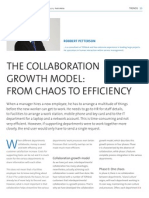 The Collaboration Growth Model