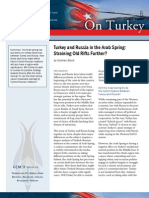 Turkey and Russia in the Arab Spring
