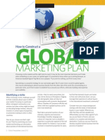 How to Contruct a Global Mktg Plan