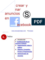 Cómo crear y gestionar anuncios en Facebook