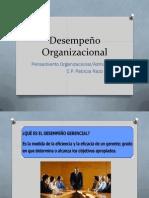 Desempeño Organizacional