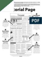 Editorial Page Spread