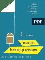 Exploatarea Instalatiilor de Protectie Si Automatizare